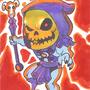Skeletor Art Card