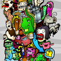 Doodle Mania by Roboface3001