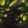 Alien Queen by Maszrum