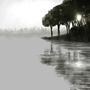 Misty Pond by 1600