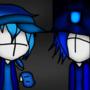 Madness Combat CrystalBlue And DJ Ninja Blue