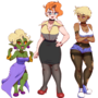 The Three Roomates!