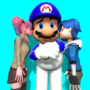 Saiko and Tari kissing SMG4