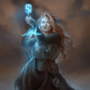 Psionic mage - COMMISSION