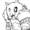 Gato Roboto weird comic style