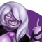 Amethyst Rubbing with her Whip