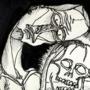 Glowing Skull #01