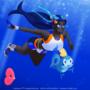 Nessa's underwater friends