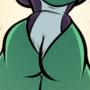 She-Hulk - Judge, Jury and Executioner - Cartoon PinUp