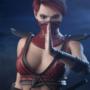 Mortal Kombat 11 - Skarlet in MK9 outfit