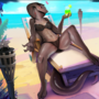 Tayla At The Beach (Comm)
