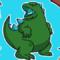 Godzilla Stickers