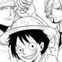ONE PIECE LUFFY, ZORO AND SANJI FAN ART