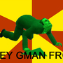 Obey the gman frog by zerek44