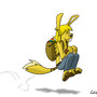A strange easter bunny by Comic-Ray