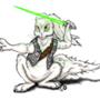 Mirax, Kushiban Jedi. by johngoldenwolf
