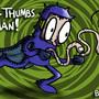 'Long-Thumbs Man!' by Butzbo