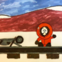 Kenny on the tracks
