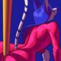 """Pole tiger dance"""