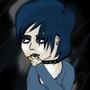 Smokey girl by Kreid