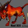 Red XIII by Eduardo-13