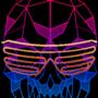 Hotline Gaijin low-poly skull