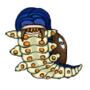 [AP Monster]No. 1: Evil eye caterpillar