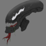 Symbiote Xenomorph - Bust