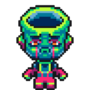 Neon Buckethead