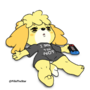 Voluntary Isabelle in a T-shirt