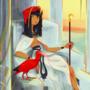 Ibis lady
