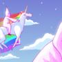 Robot Unicorn Attakkk by idiot-monarch