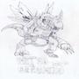 Metal Greymon by Elementox