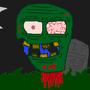 Zombie Head by RetroCo
