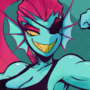 Strong fish lady Undyne request #8