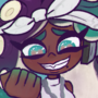 What's in Marina's hand?