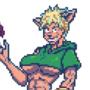 Cat Archer Sprite
