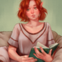 Bookish Elf - COMMISSION