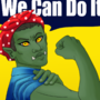 Orc Rosie the Riveter