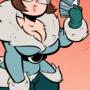 Mei Overwatch - Wishing for 69 - Cartoony PinUp + PRINT