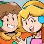 Peach Pringus and Daisy McDingus