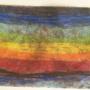 rainbow crayon smear