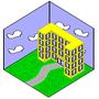 First Pix Art Building by 8-BitAce