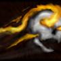 Flaming Skull by Killryde