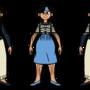 Perpetual Son: Blue Moon Model Sheet