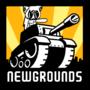 Newgrounds logo I did.