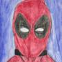 Deadpool watercolor