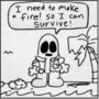 RAHUL TITAN'S ISLAND ADVENTURE ep 3 FIRE