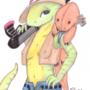 Halloween Aloe: Jurassic Park