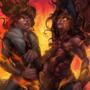 Phoenix fire - TCG art